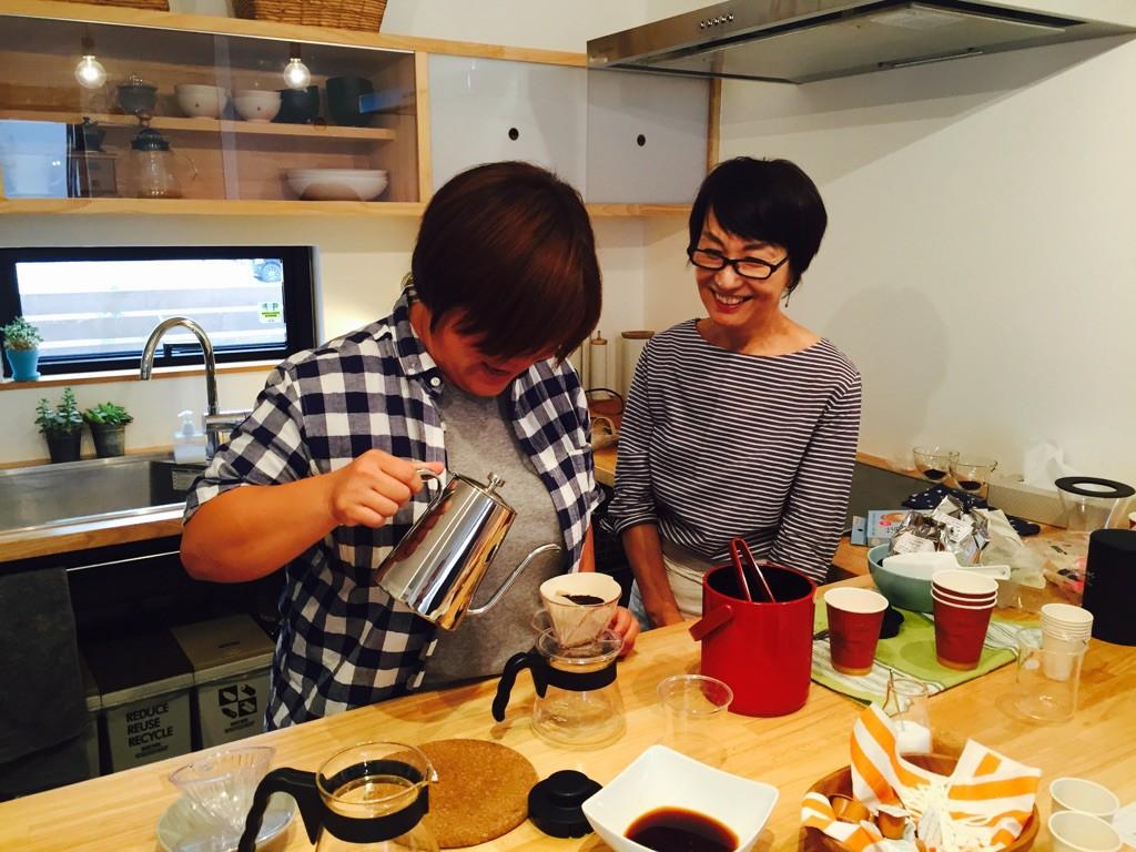 Lifestyle workshopアイスコーヒー